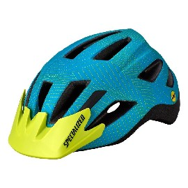 Capacete Specialized Shuffle Child Led Acqua/verde